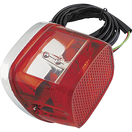 Biker's Choice LED Tail Lamp - Biker's Choice Triple Chrome 1