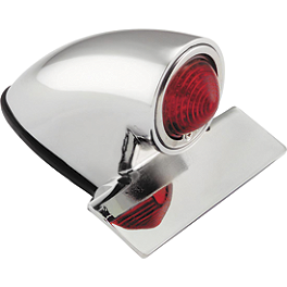 Biker's Choice Sparto LED Tail Lamp - Biker's Choice Custom Mirror Clamp
