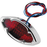Biker's Choice Kat Eye Oval LED Tail Light - Biker's Choice Cruiser Lighting