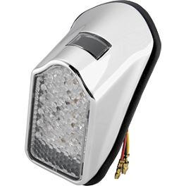 Biker's Choice Mini Tombstone LED Tail Light - BIKER'S CHOICE HELMET LOCK