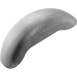 Biker's Choice Smooth Classic Rear Fender - Biker's Choice Slotted Electric Horn
