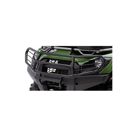 Kawasaki Genuine Accessories Full Coverage Brush Guard - Metallic Greystone - Main