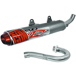 Big Gun Evo R Complete Exhaust - DR.D NS-4 Stainless Steel Complete Exhaust With Aluminum Can