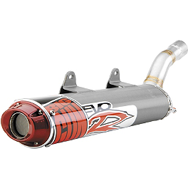 Big Gun Evo R Slip-On Exhaust - 2010 Kawasaki KFX450R Big Gun Eco System Slip-On Exhaust