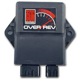Big Gun Rev Box - 2008 Suzuki LTZ400 Trail Tech Vapor Computer Kit - Stealth