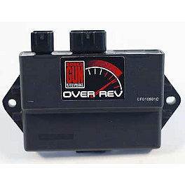 Big Gun Rev Box - 2006 Yamaha RAPTOR 350 Trail Tech Vapor Computer Kit - Silver
