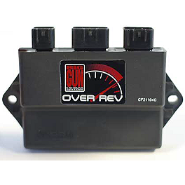 Big Gun Rev Box - 2002 Yamaha RAPTOR 660 Trail Tech Vapor Computer Kit - Silver