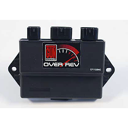 Big Gun Rev Box - 2004 Yamaha RAPTOR 660 Trail Tech Dashboard Bar Mount For Vapor/Vector Computer - Oversize 1-1/8