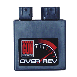 Big Gun Rev Box - 2004 Honda TRX450R (KICK START) Trail Tech Vapor Computer Kit - Silver