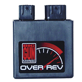 Big Gun Rev Box - 2008 Honda TRX450R (ELECTRIC START) Trail Tech Vapor Computer Kit - Silver
