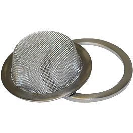 Big Gun Spark Arrestor Screen - 2008 Honda TRX450R (ELECTRIC START) DR.D Replacement Spark Arrestor