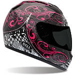 Bell Arrow Helmet - Zipped - Womens Bell Full Face Motorcycle Helmets
