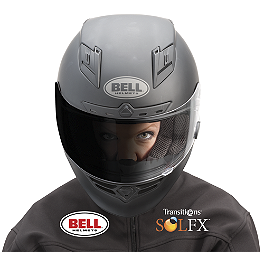 Bell Transitions SOLFX Photochromic ClickRelease Shield - Bell Vortex Helmet