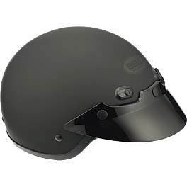 Bell Shorty Helmet - Cyber U-70 Carbon Look Helmet