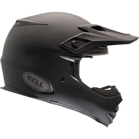 Bell MX-2 Matte Black Helmet - Main