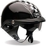 Bell Pit Boss Helmet - Checker - Bell Dirt Bike Half Shell Helmets