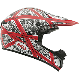 Bell SX-1 Rocker Helmet - METAL MULISHA PITCH BLACK BEANIE