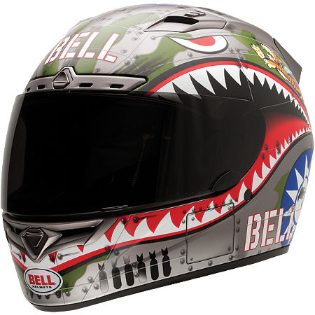 Bell Vortex Helmet - Flying Tiger - Main
