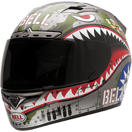 Bell Vortex Helmet - Flying Tiger - Bell ClickRelease Shield