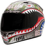 Bell Vortex Helmet - Flying Tiger - BELL-VORTEX-FLYING-TIGER-HELMET Bell Motorcycle