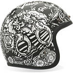 Bell Custom 500 Helmet - RSD Trouble -  Open Face Motorcycle Helmets