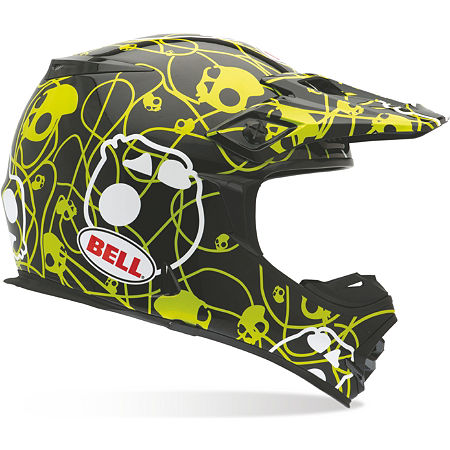 Bell MX-2 Helmet - Skull Candy Ribbons - Main