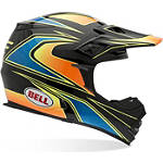 Bell MX-2 Helmet - Tagger Transition - Bell Dirt Bike Protection