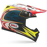 Bell Moto-9 Carbon Helmet - Airtrix Laguna - Bell Dirt Bike Helmets and Accessories