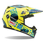 Bell Moto-9 Carbon Helmet - Unit Existence - BELL-PROTECTION Dirt Bike kidney-belts