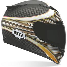 Bell RS-1 Helmet - RSD Flash - Bell Vortex Helmet - Damage