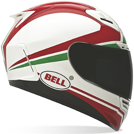 2013 Bell Star Race Day Helmet - Tricolore - Bell RS-1 Helmet - Airtrix Speedway