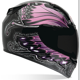 Bell Vortex Helmet - Monarch - Speed & Strength Women's SS1100 Helmet - Flower Power