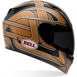Bell Vortex Helmet - Damage - Sparx Tracker Helmet - Stiletto