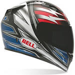 Bell Vortex Helmet - Patriot - Full Face Motorcycle Helmets