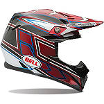 Bell Moto 9 Carbon Helmet - Tagger Clash - Bell Dirt Bike Products