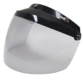 Bell Paulson 3-Snap Flip Shield - Bell 3 Snap Retro Shield