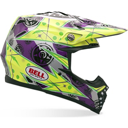 Bell Moto-9 Helmet - Unit - 2013 Troy Lee Designs SE3 Helmet - Piston
