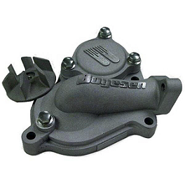 Boyesen Supercooler Water Pump Kit - 2004 Kawasaki KX250F Boyesen Clutch Cover - Black