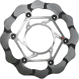 Braking Batfly Brake Rotor - Front Right - 2009 Suzuki DL650 - V-Strom ABS Braking SM1 Semi-Metallic Brake Pads - Front Left