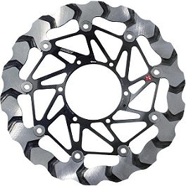 Braking BY7 Brake Rotor - Front Right - 2012 Suzuki GSX-R 600 Leo Vince SBK Carbon Fiber Alternator Cover