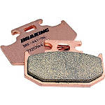 Braking CM44 Sintered Sport Brake Pads - Rear - Kawasaki KX250 Dirt Bike Brakes