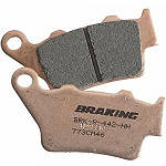 Braking CM46 Race Compound Brake Pads - Rear - Honda CRF450X Dirt Bike Brakes