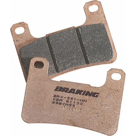 Braking CM55 Sintered Sport Brake Pads - Rear - Main