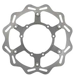 Braking W-FLO Oversized Brake Rotor - Front - 2012 Honda CRF250X Braking Batfly Oversized Brake Rotor Kit - Front