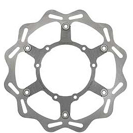 Braking W-FLO Oversized Brake Rotor - Front - 2007 Kawasaki KX250 Braking W-OPEN Oversized Brake Rotor Kit - Front