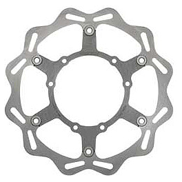 Braking W-FLO Oversized Brake Rotor - Front - 2007 Suzuki RMZ250 Braking Batfly Cross Brake Rotor - Front