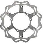 Braking W-FLO Oversized Brake Rotor - Front - Braking Dirt Bike Products