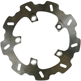 Braking W-FIX Brake Rotor - Rear - 1988 Yamaha YZ80 Braking SM1 Semi-Metallic Brake Pads - Front Left