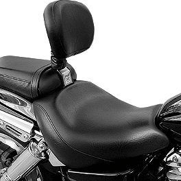Bakup Fully Adjustable Driver Backrest - Standard - 2009 Kawasaki Vulcan 1700 Voyager ABS - VN1700B Bakup Fully Adjustable Driver Backrest - Standard