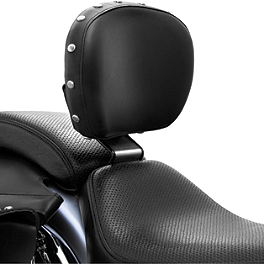 Bakup Height Adjustable Driver Backrest - Studded - Bakup Fully Adjustable Driver Backrest - Studded